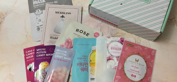 Beauteque Mask Maven February 2018 Subscription Box Review + Coupon