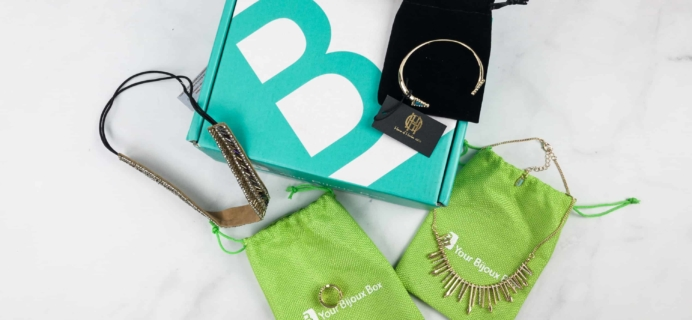 Your Bijoux Box March 2018 Subscription Box Review + Coupon