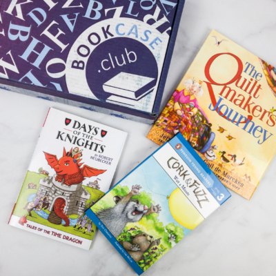 Kids BookCase Club March 2018 Subscription Box Review + Coupon!