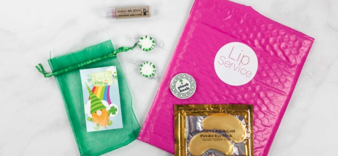 Lip Service March 2018 Subscription Box Review