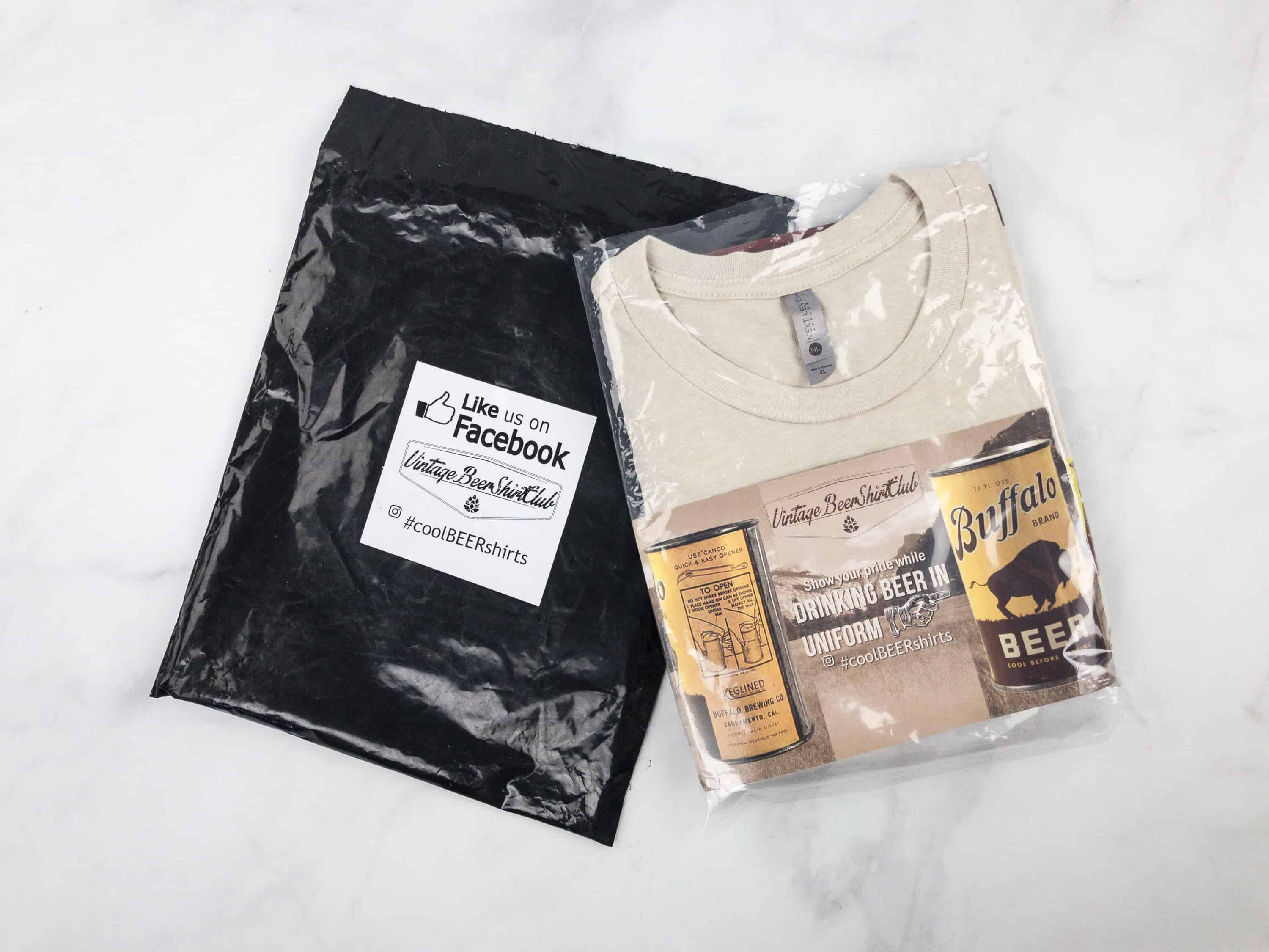 Vintage Beer Shirt Club March 2018 Subscription Box Review + Coupon
