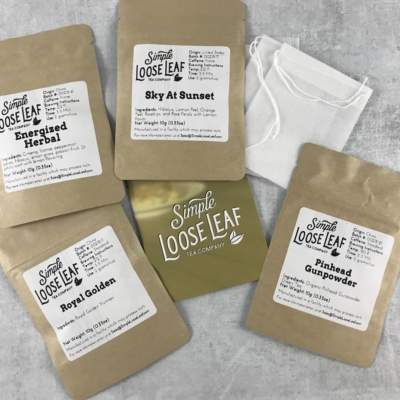 Simple Loose Leaf Tea March 2018 Subscription Box Review + Coupon!