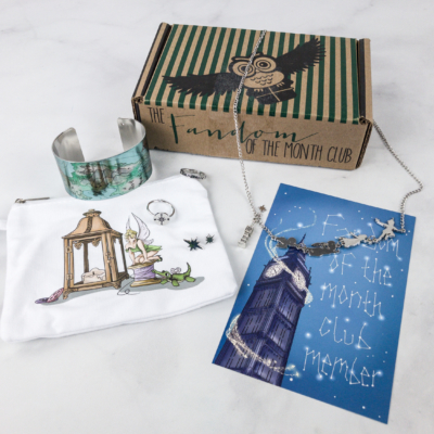 Fandom of the Month Club February 2018 Subscription Box Review + Coupon