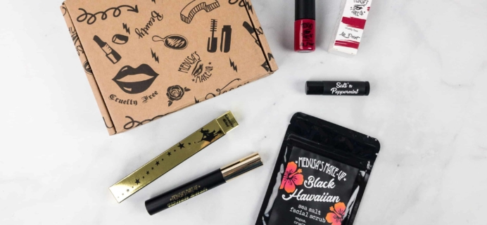 Medusa's MakeUp Beauty Box Subscription Box Review – March 2018