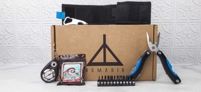 Nomadik February 2018 Subscription Box Review + Coupon
