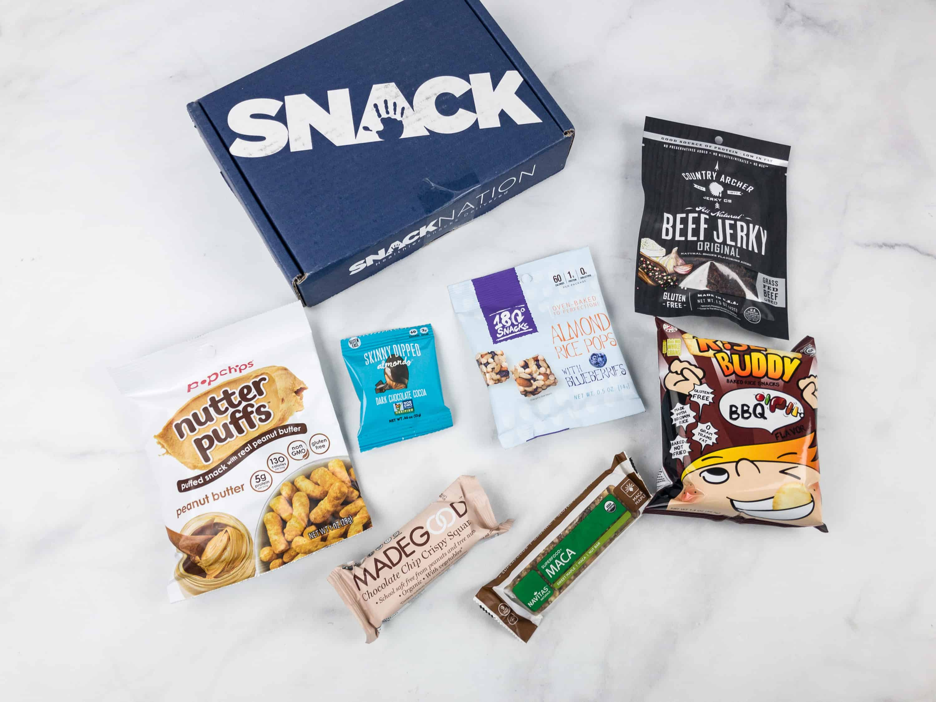 Snack Nation March 2018 Subscription Box Review + Coupon!