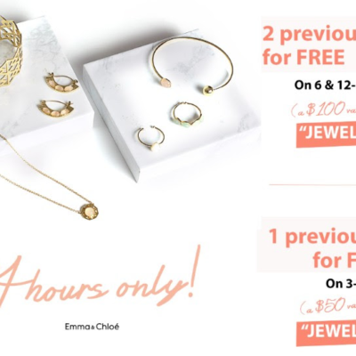 Emma & Chloe Coupon Flash Sale: Up to 2 FREE Boxes with Prepaid Subscription!