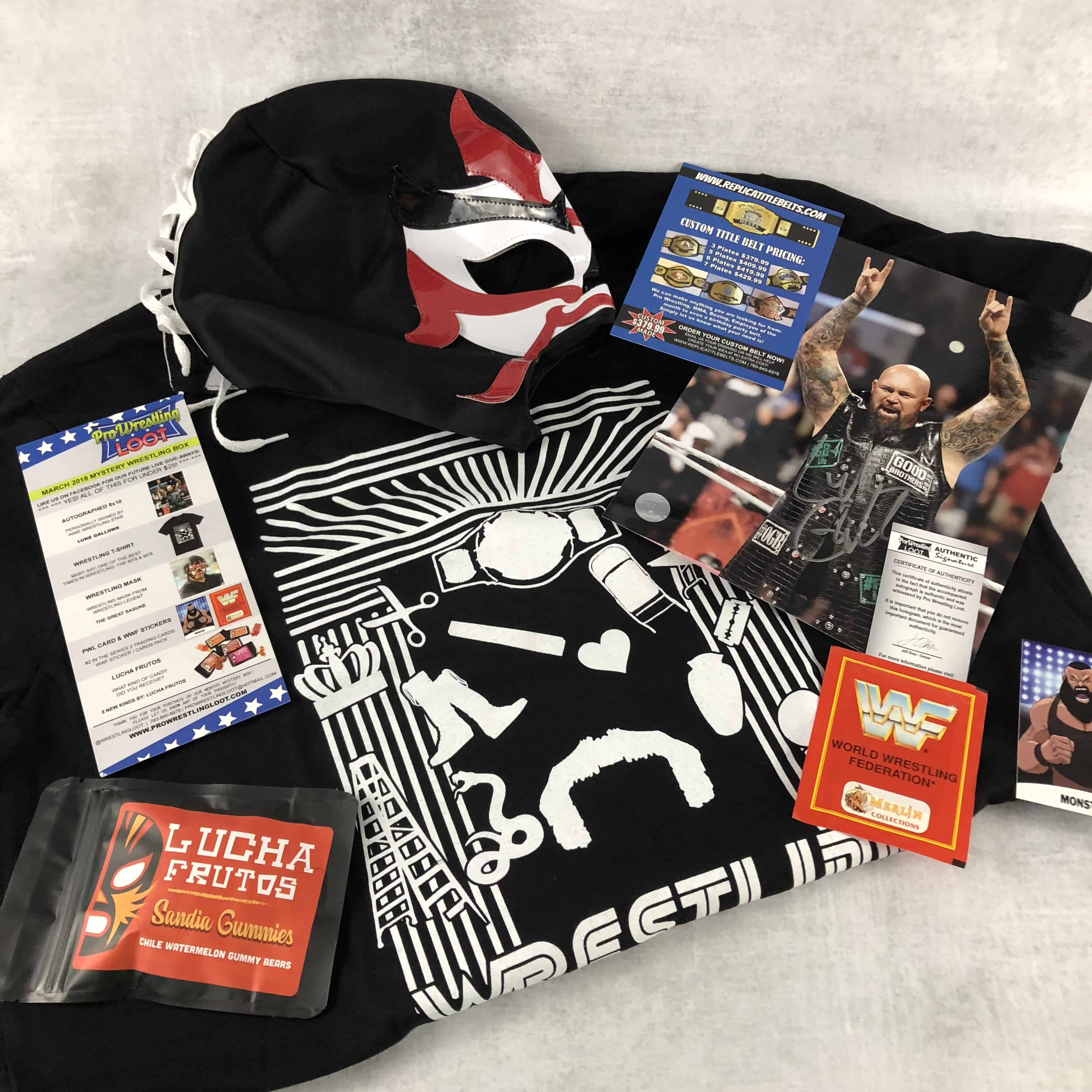 Pro Wrestling Loot March 2018 Subscription Box Review + Coupon
