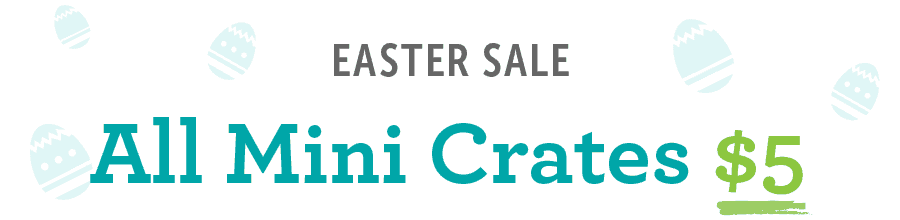 KiwiCo Easter Sale: Get All Mini Crates For $5 Only + 40% Off First Month!