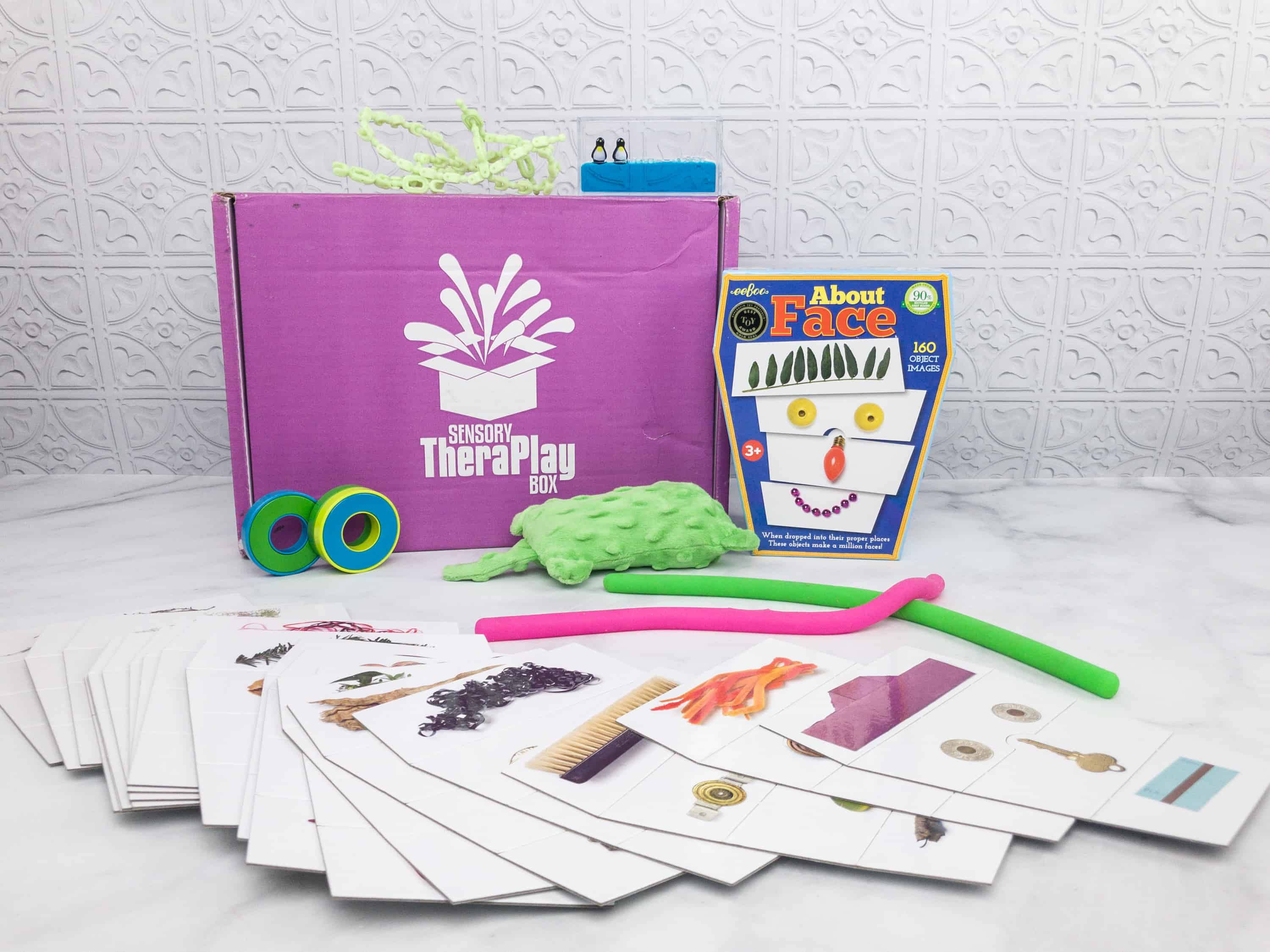 Sensory TheraPLAY Box March 2018 Subscription Box Review + Coupon