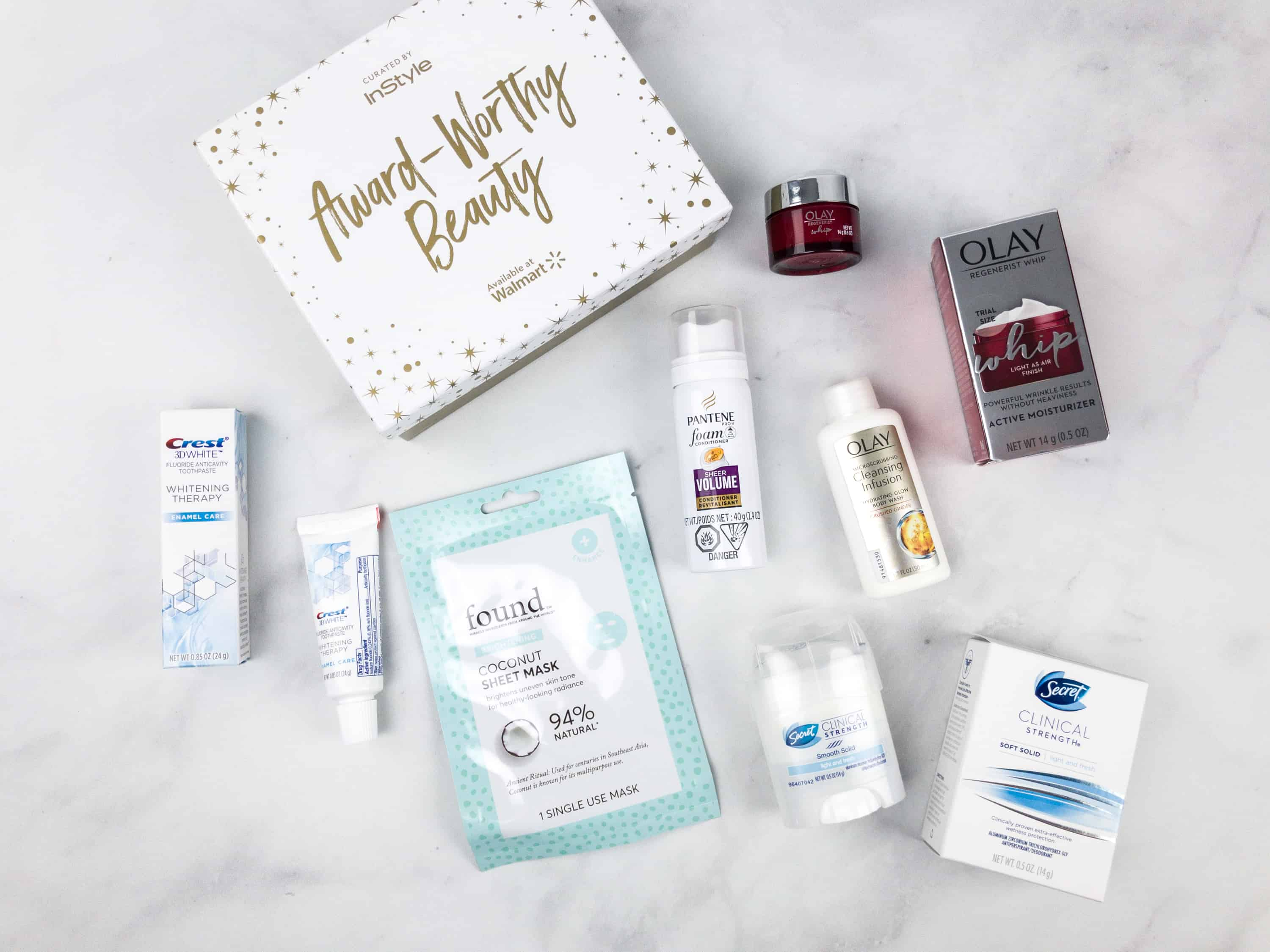 Walmart Beauty Box x InStyle Award-Worthy Limited Edition Box Review