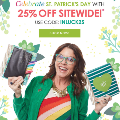 Erin Condren St. Patrick's Day Sale: Get 25% Off Sitewide!