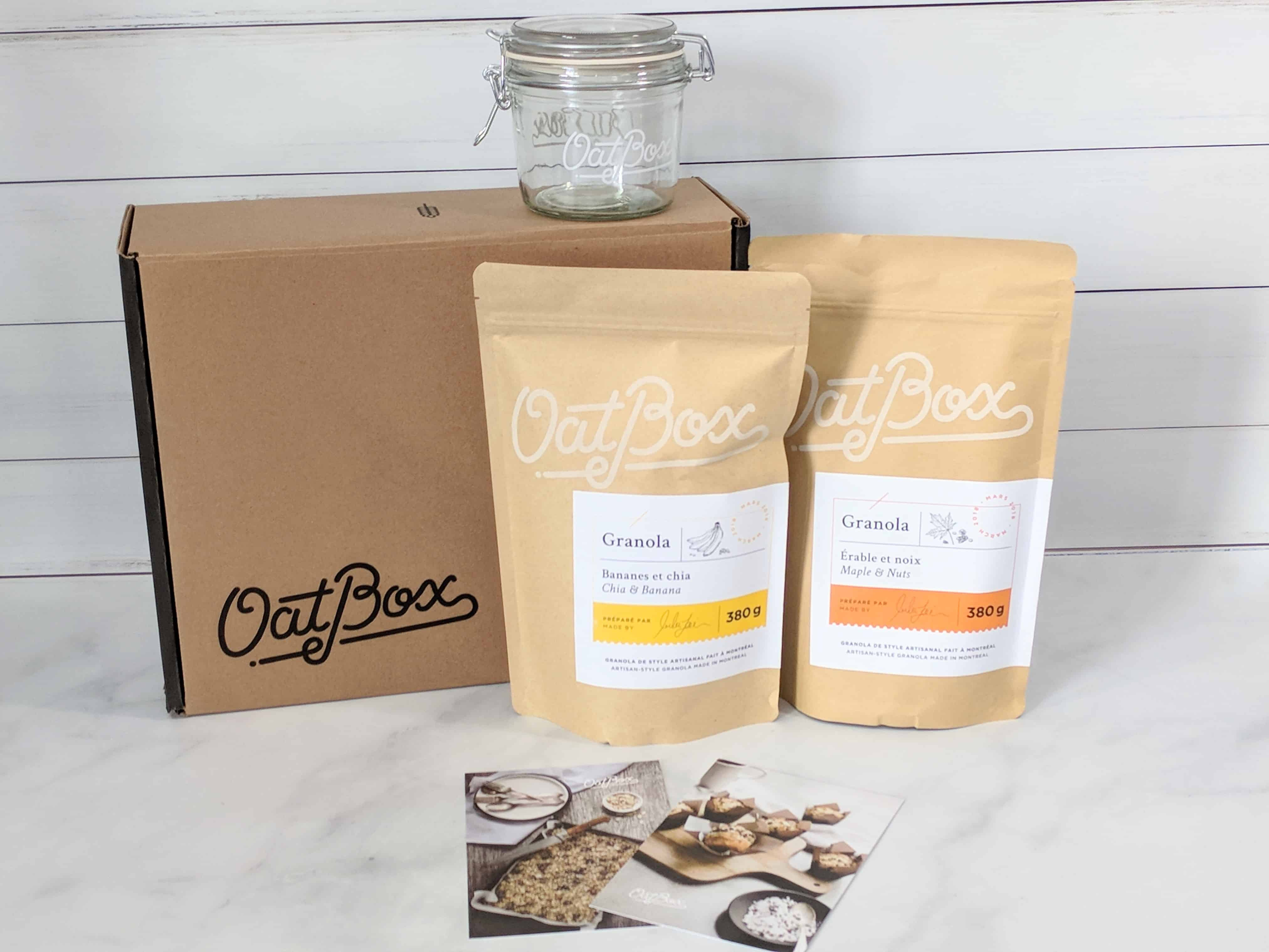 OatBox March 2018 Subscription Box Review & Coupon