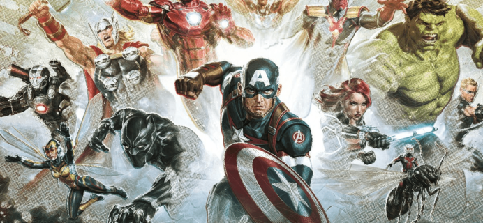 Loot Crate Marvel Gear + Goods May 2018 Theme Spoilers + Coupon!