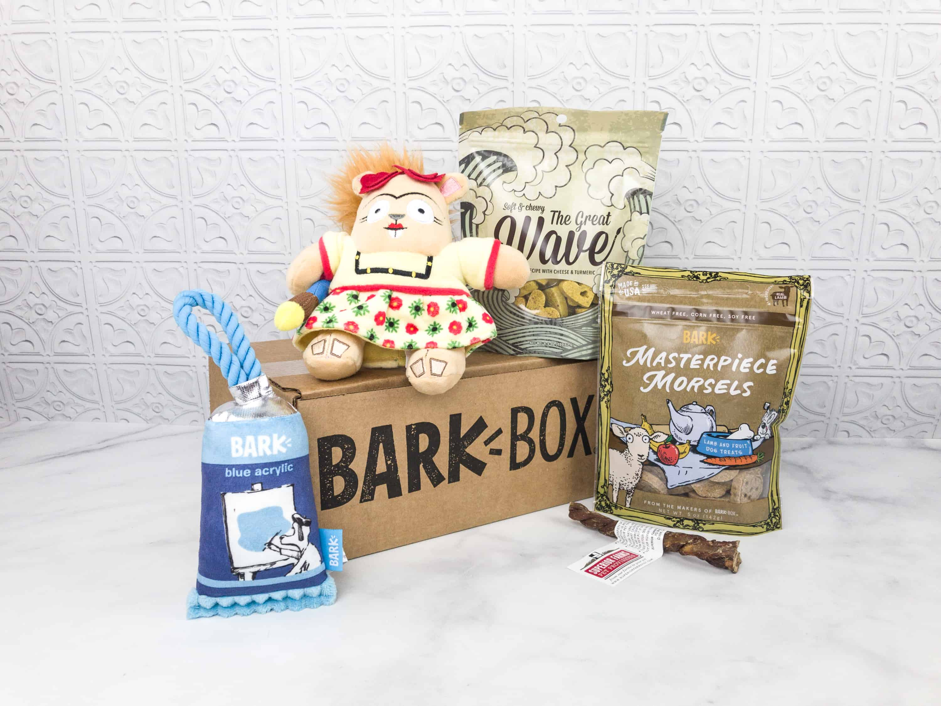 Barkbox March 2018 Subscription Box Review + Coupon