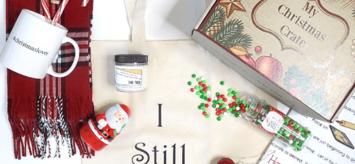My Christmas Crate Deal: Get Free Sampler Box!