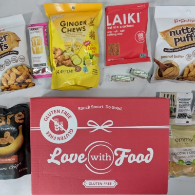Love With Food Gluten-Free March 2018 Subscription Box Review + Coupon