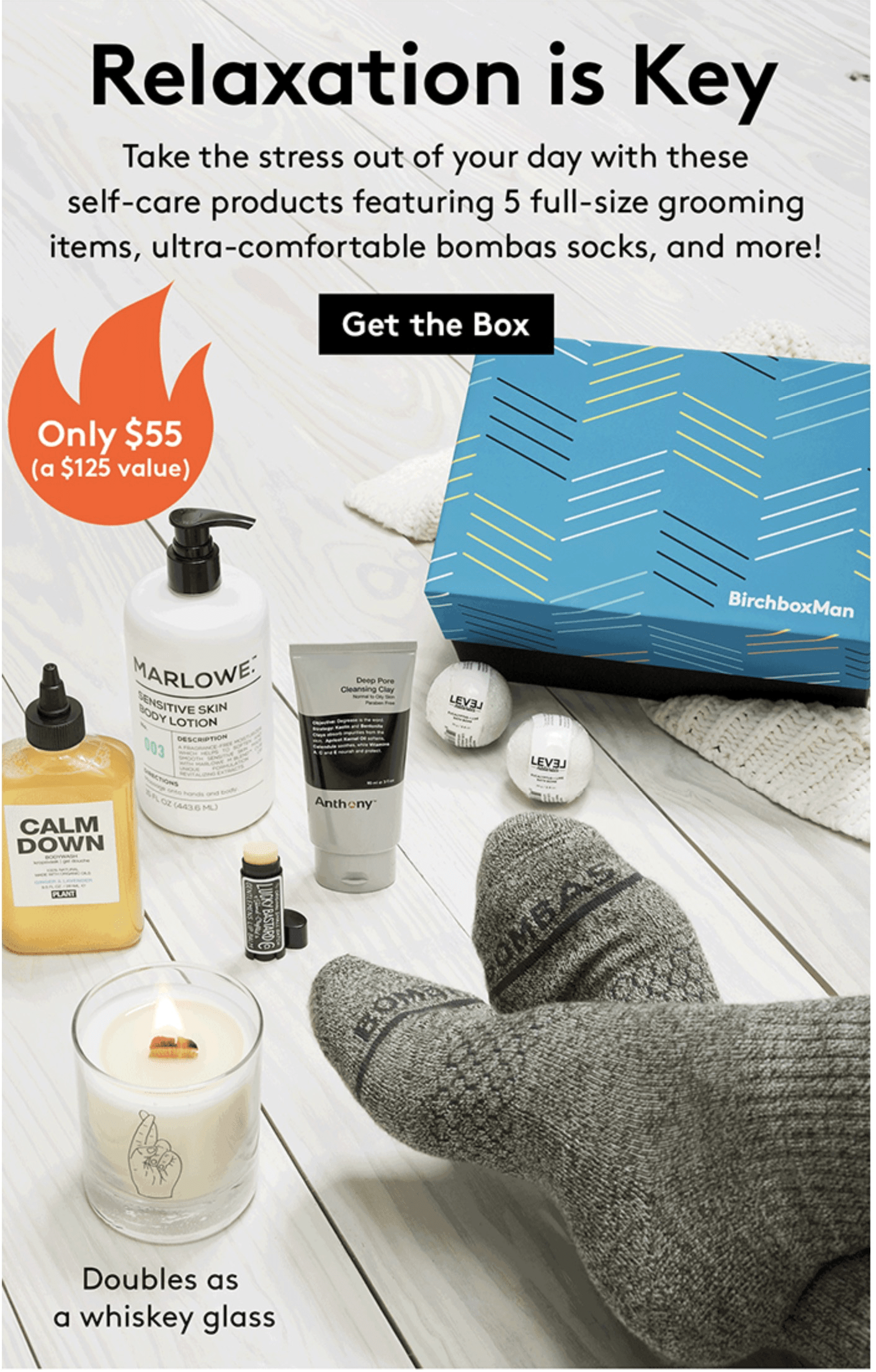 New Birchbox Man Limited Edition Box: Off the Clock + Coupons!