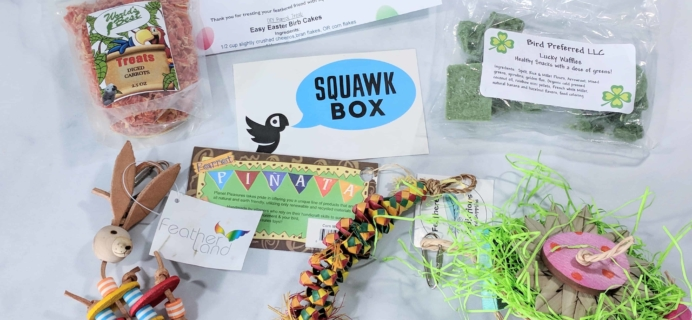 Squawk Box Subscription Review – March 2018