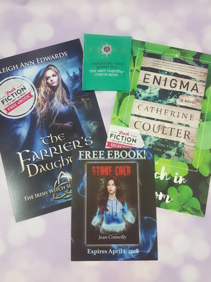 Fresh fiction box february 2018 subscription box review coupon i received 5 paperbacks and codes for 2 e books fresh fiction sends different box variations each month so keep in mind that your box may vary from mine fandeluxe Image collections