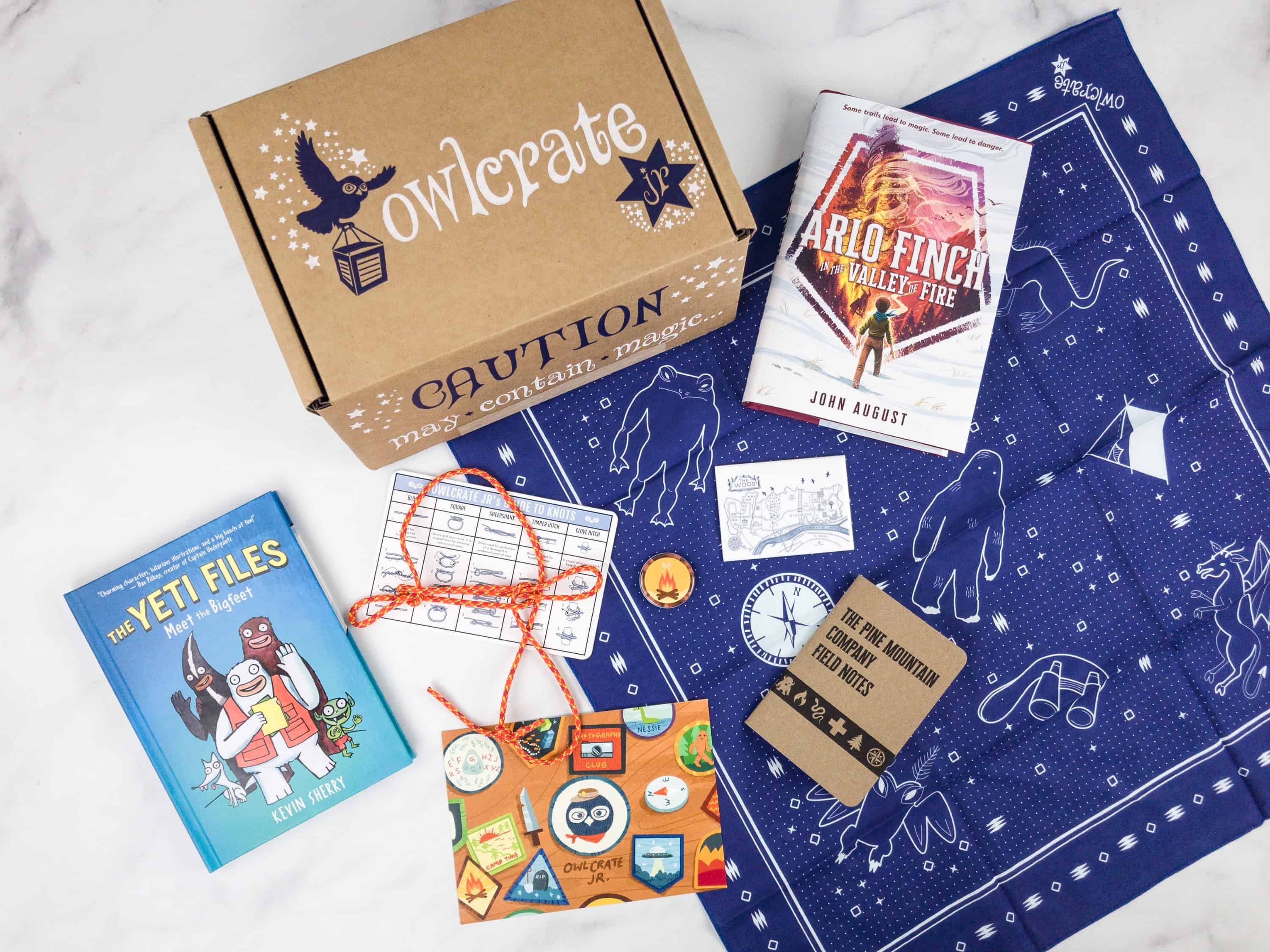 OwlCrate Jr. February 2018 Box Review & Coupon