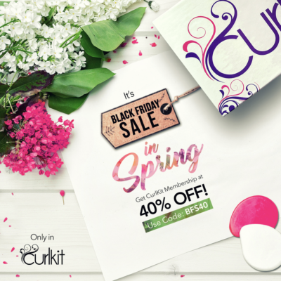 CurlKit Black Friday Sale in Spring: Save 40% on Everything!