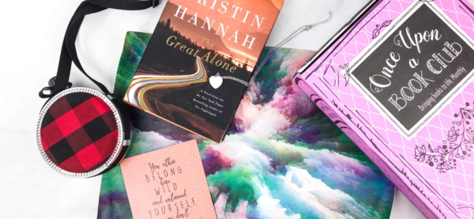 Once Upon a Book Club February 2018 Subscription Box Review + Coupon – Adult Box