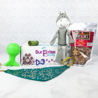 Surprise Pawty March 2018 Subscription Box Review + Coupon