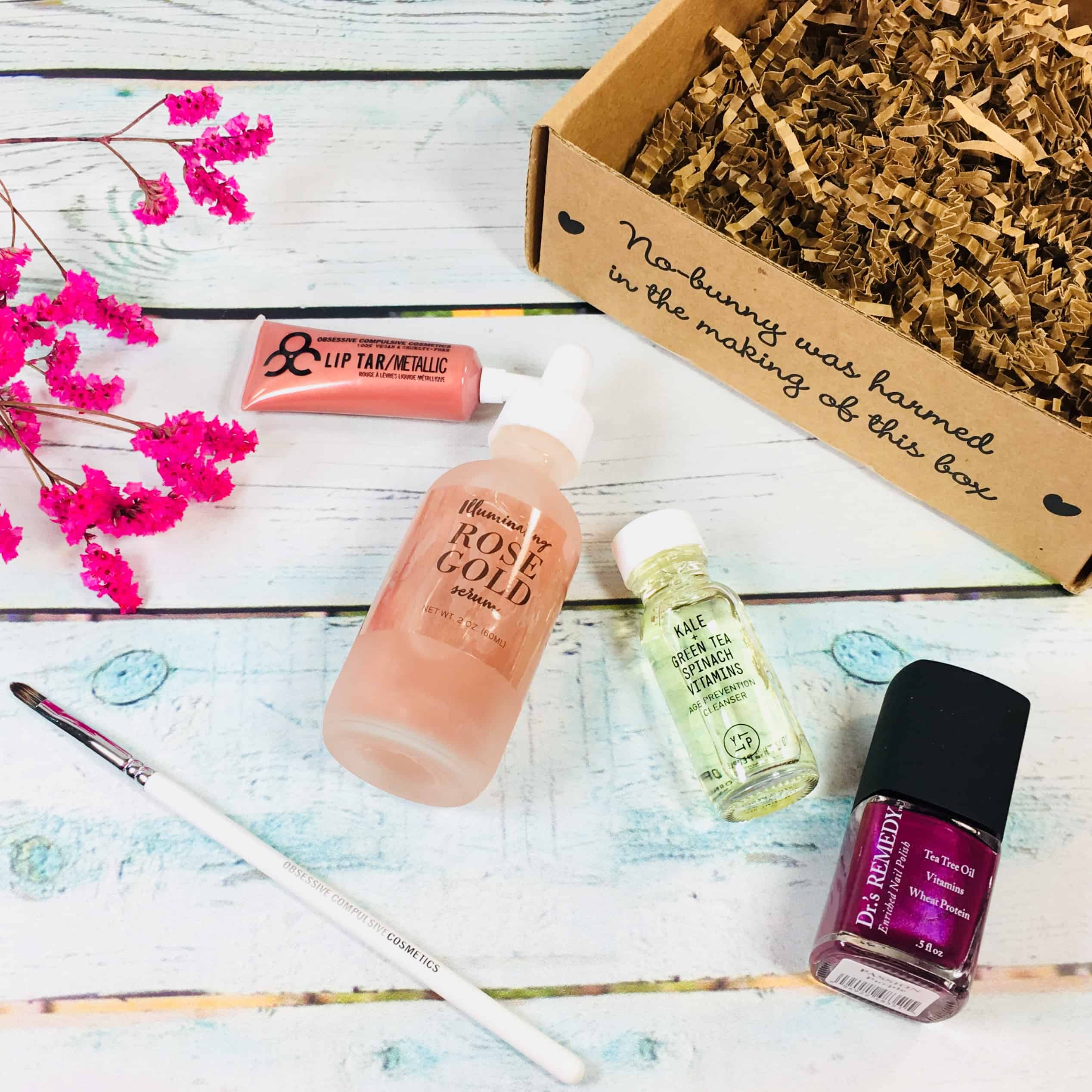 Vegan Cuts Beauty Box March 2018 Subscription Box Review