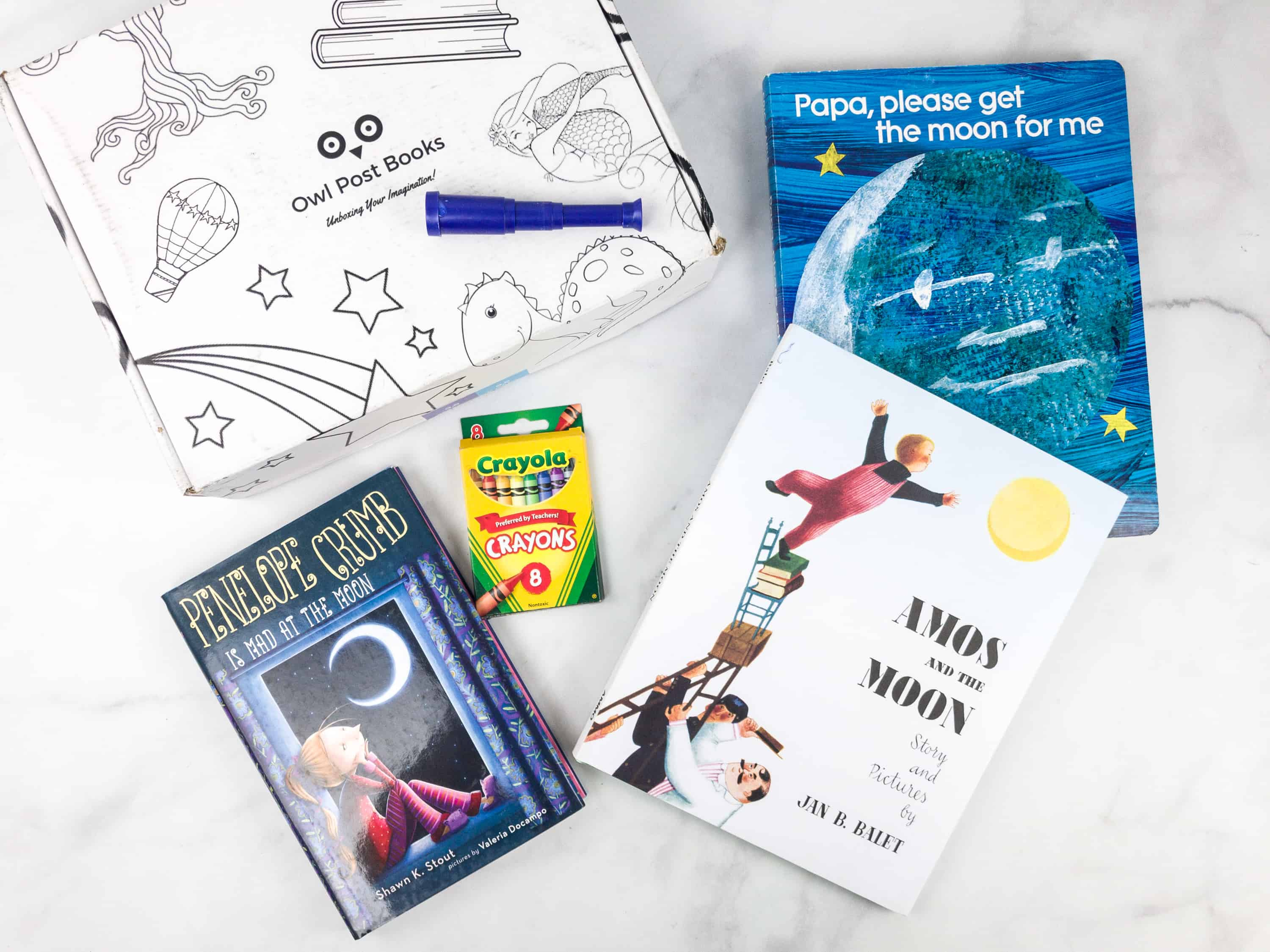Owl Post Books Imagination Box Black Friday Deal: Save 20% off your entire order!