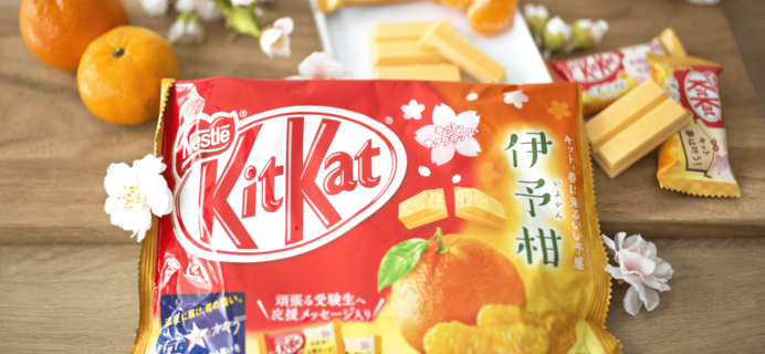 Bokksu Deal: Get a Free Bag of Mandarin Orange Kit Kats!