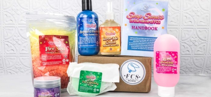Fortune Cookie Soap FCS of the Month March 2018 Box Review + Coupon!