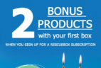 Rescue Box 2ND Anniversary Sale: Get 2 Bonus Products With Your First Box!