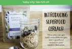 Green Blender Superfood Cereals Available Now +  Coupon!