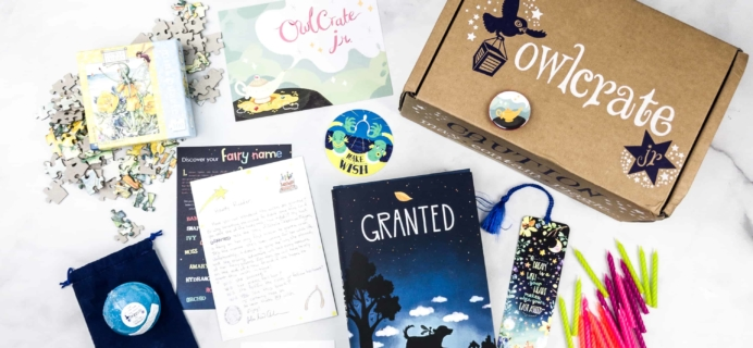 OwlCrate Jr. March 2018 Box Review & Coupon