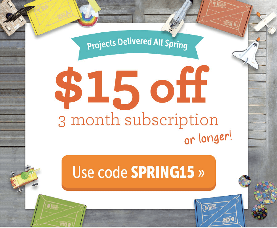 KiwiCo Sale: $15 Off 3-Months or 40% Off First Month!