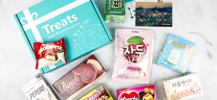 Treats Box March 2018 Review & Coupon – Korea