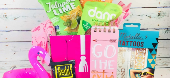 CampusCube College Care Package March 2018 Girls Cube Review+ Coupon!