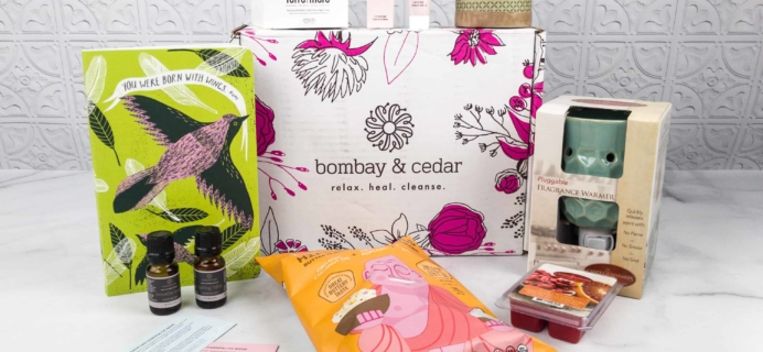 Bombay & Cedar Subscription Box Review + Coupon – March 2018