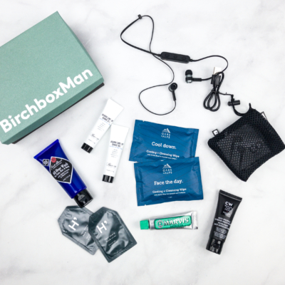 Birchbox Man April 2018 Subscription Box Review + Coupon