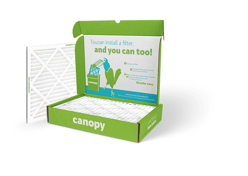 canopy air deal: get first filter free with an annual plan! - hello ...