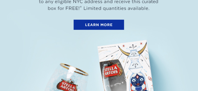 POPSUGAR x Stella Artois Free Gift – No purchase necessary!