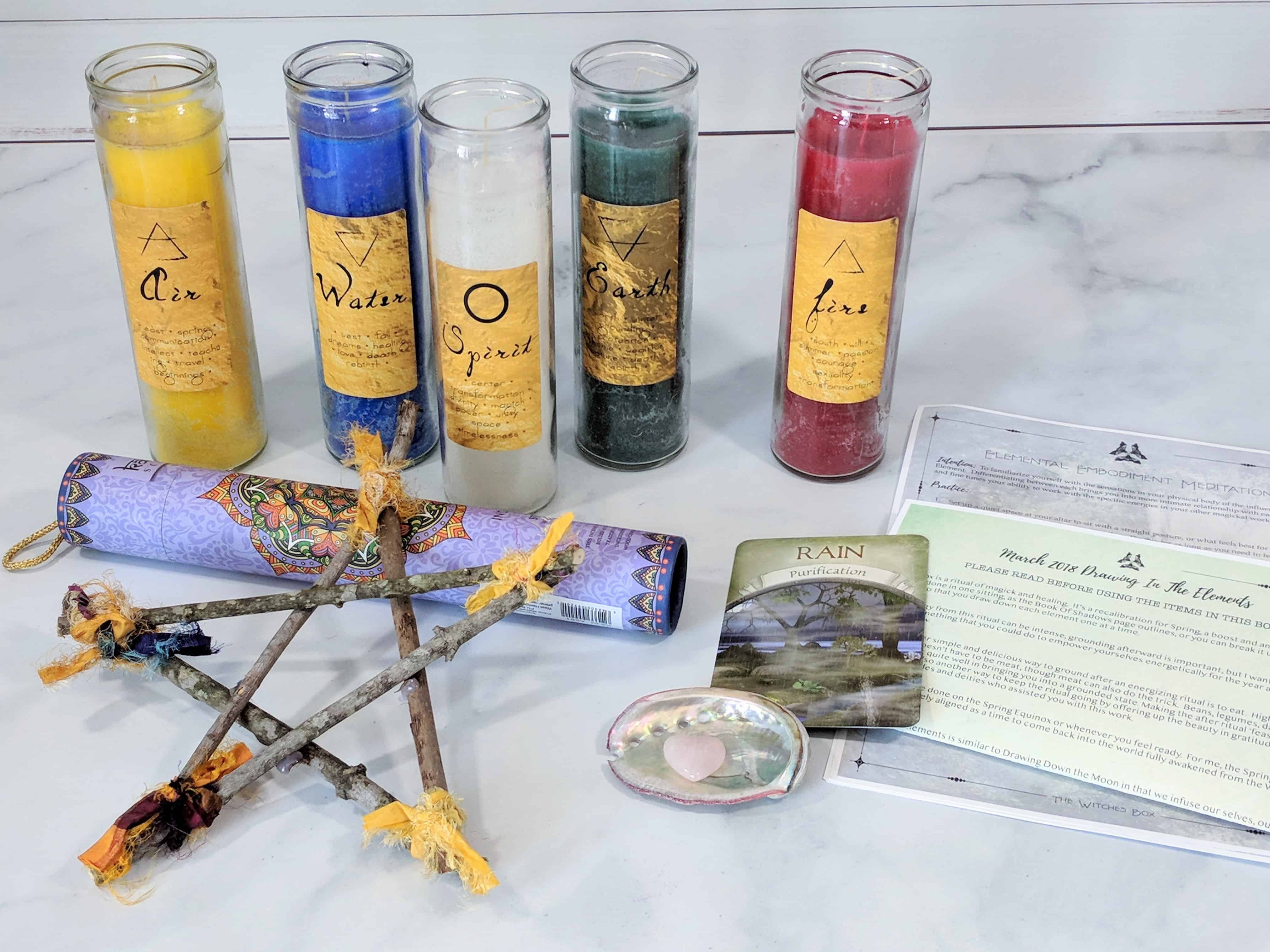 The Witches Box Subscription Box – March 2018