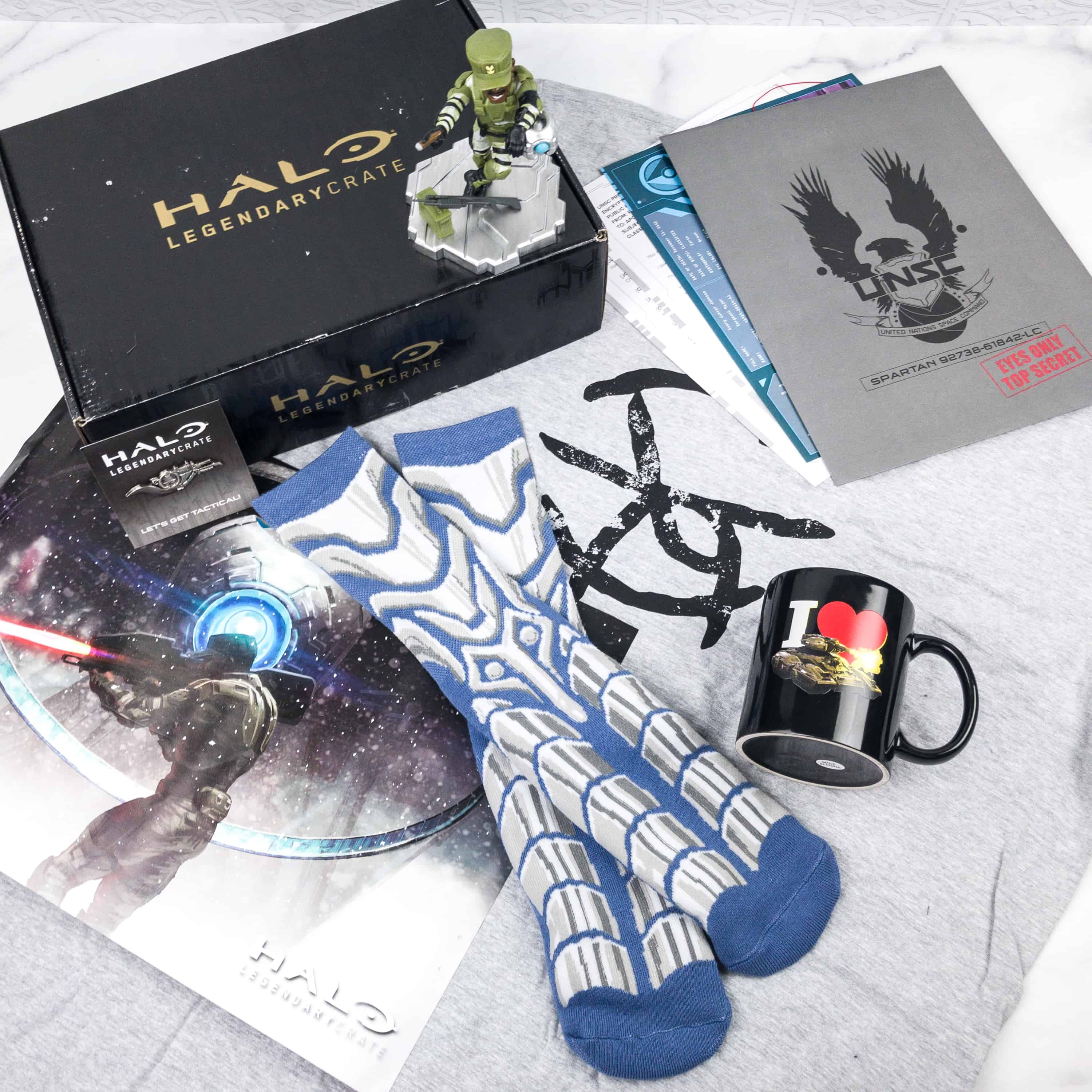 Halo Legendary Crate February 2018 Subscription Box Review + Coupon