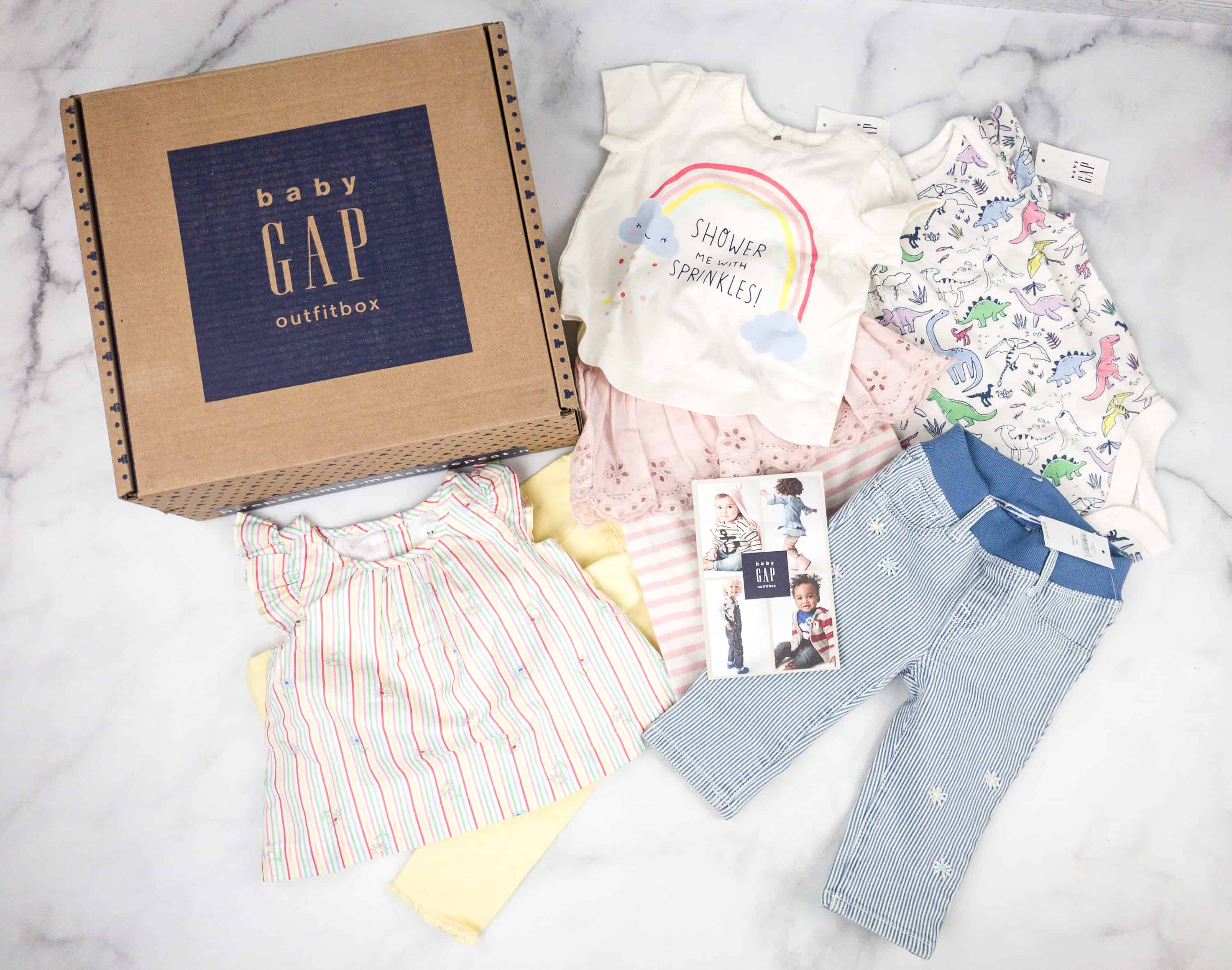 babyGap OutfitBox Spring 2018 Subscription Box Review hello