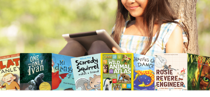 Epic! Kids Books Spring Savings:  Get 2 Months FREE!