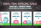 Loot Crate & Loot Anime & Loot Gaming Deal: 20% Off + FREE bonus items with Prepaid Subscriptions!