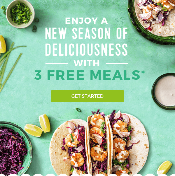 Hello Fresh Spring Deal: Get 3 Free Meals With Your First