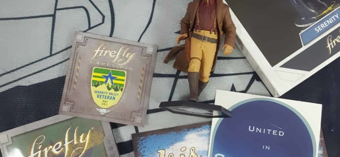 Firefly Cargo Crate January-February 2018 Review + Coupon