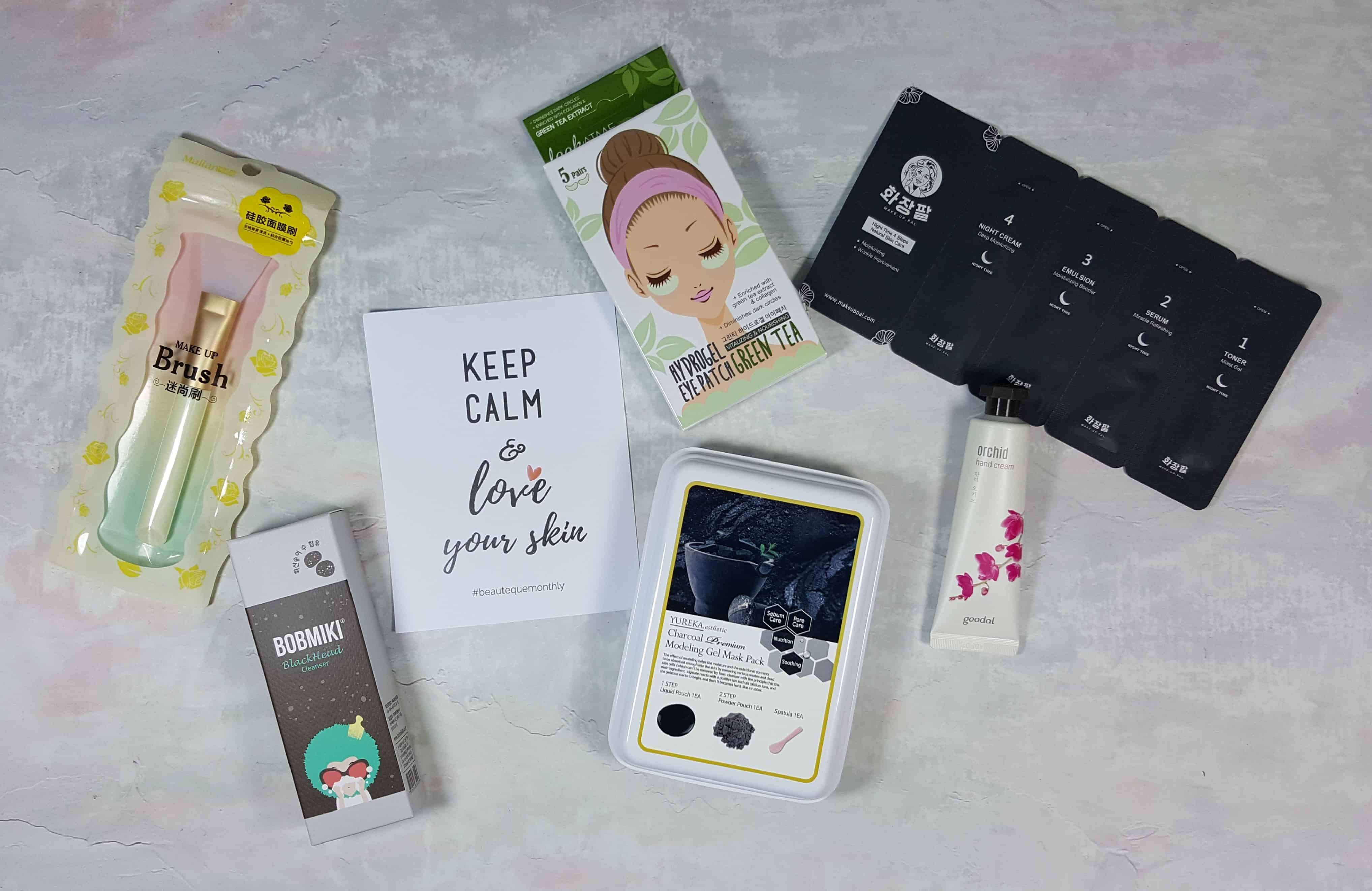 Beauteque BB Box Subscription Review + Coupon – November 2017